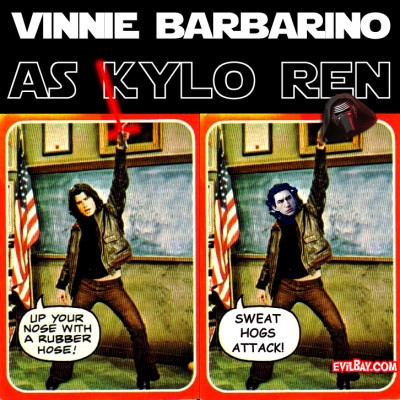 Vinnie Barbarino as Kylo Ren